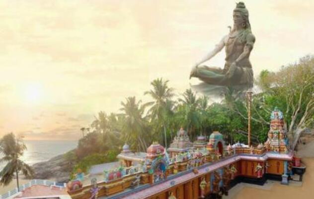 pilgrims in trivandrum, aazhimala temple