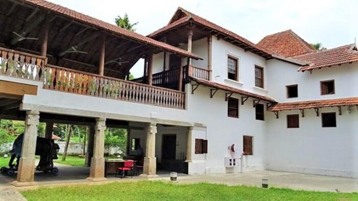 palaces in thrissur, appan thampuran smarakam