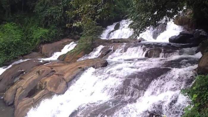 Backwaters and waterfalls in kottayam