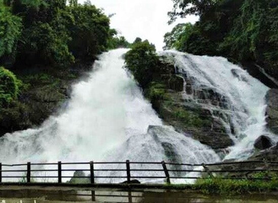 waterfalls in thrissur, charpa falls, places to visit in kerala