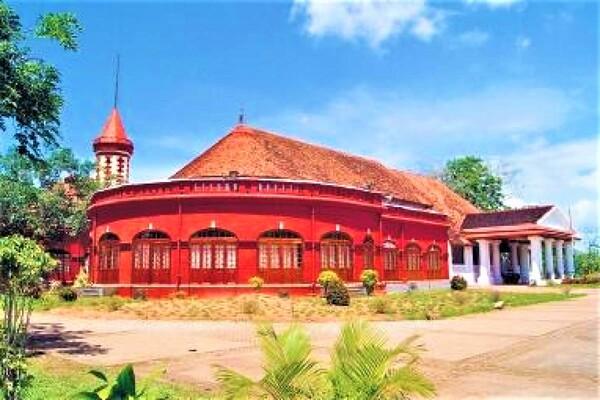 palaces in trivandrum, kanakakunnu palace