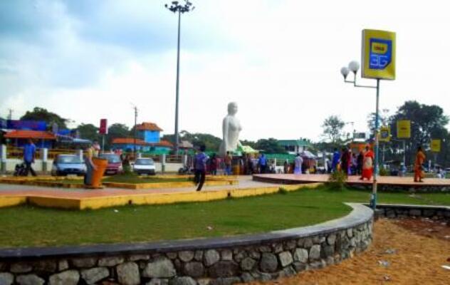 parks in kollam, mahatma gandhi park