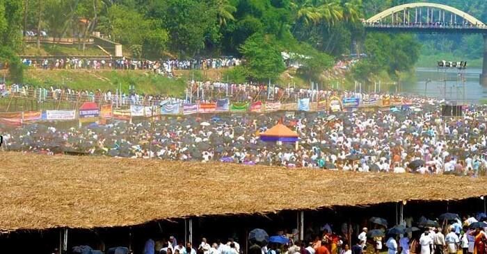 pilgrims in pathanamthitta, maramon convention