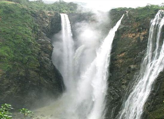 Waterfalls in Idukki