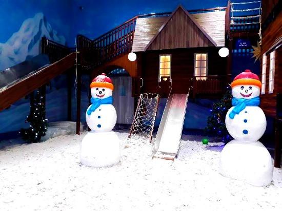 thrissur park, snow storm