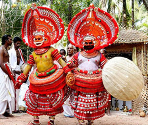 tourist places in kannur, theyyam, places to visit in kerala
