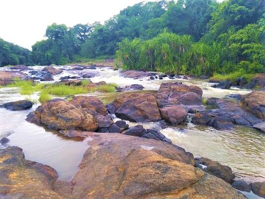 waterfalls in kollam, vattathil waterfalls