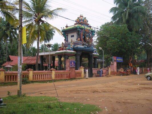 pilgrims in trivandrum, vellayani temple