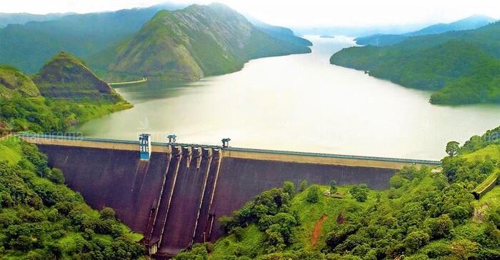 dams in idukki, cheruthoni dam, places to visit in kerala