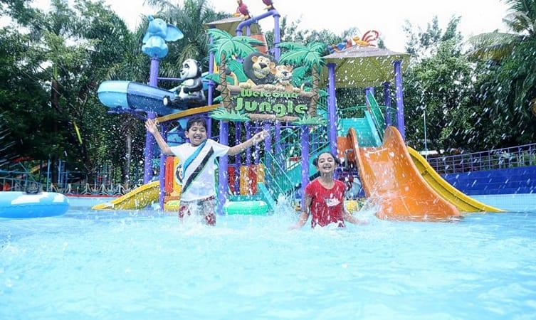 thrissur park, dream world water park