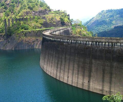 dams in idukki, idukki arch dam, tourist places in Idukki