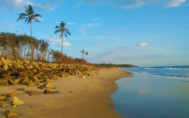 Kasaragod beaches, kappil beach, places to visit in kerala