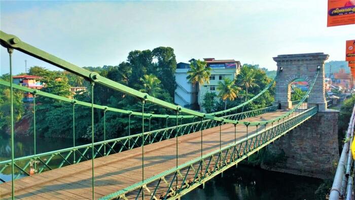 tourist places in kollam, punalur bridge, places to visit in kerala